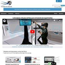 LABORATORIO VIRTUAL SIMULADOR DE EXPERIMENTOS DE FÍSICA - CURSO SOFTWARE DE SIMULACION DE LABORATORIO DE FÍSICA
