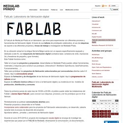 FabLab: Laboratorio de fabricación digital // This shows you information about a FabLab in Madrid