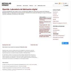 Openfab. Laboratorio de fabricación digital