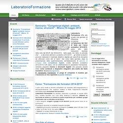 Laboratorio Formazione - Home