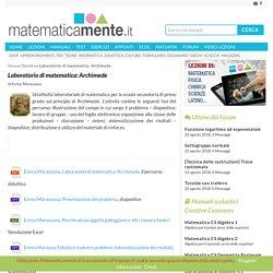 Laboratorio di matematica: Archimede