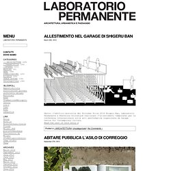 LABORATORIO — PERMANENTE