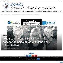 Mega Laboratorio INVALSI: la schedatura psicologica di massa dei minori italiani