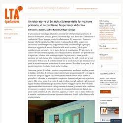 Un laboratorio di Scratch a Scienze della formazione primaria, vi raccontiamo l'esperienza didattica