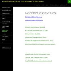 Matematica e Scienze (corso D) – Scuola Media Statale di Misano Adriatico