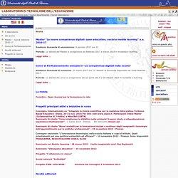 UniFI - Laboratorio di Tecnologie dell'educazione