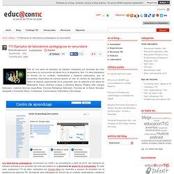 110 Ejemplos de laboratorios pedagógicos en secundaria