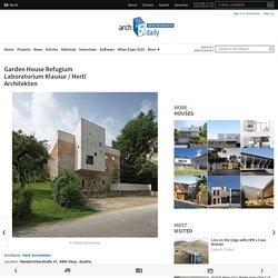 Garden House Refugium Laboratorium Klausur / Hertl Architekten