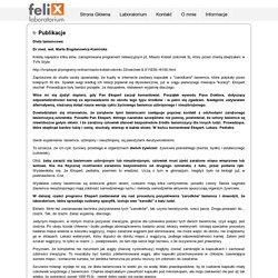 FELIX - laboratorium, weterynaria, badania, próbki, pasożyty, leczenie, Warszawa, lamblie
