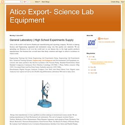 Lab Equipment Service Providers