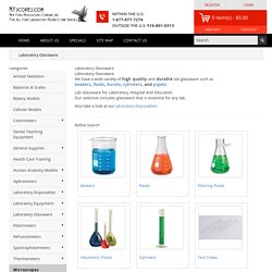 Lab Glassware For Laboratory