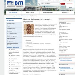 BFR - National Reference Laboratory for Mycotoxins