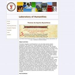 Laboratory of Humanities