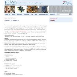 GRASP Laboratory - University Of Pennsylvania