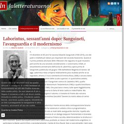 Laborintus, sessant'anni dopo: Sanguineti, l'avanguardia e il modernismo