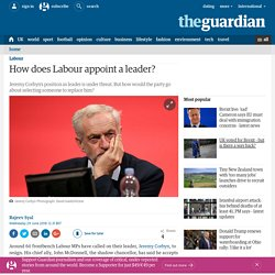 How does Labour appoint a leader?