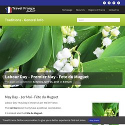 Labour Day - Premier May - Fete du Muguet