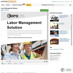 Labour Management Software