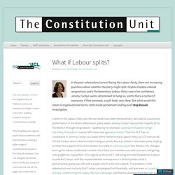 The Constitution Unit Blog