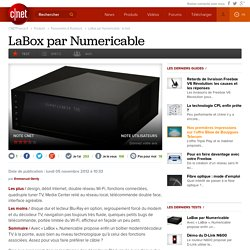 LaBox par Numericable : le test