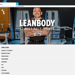 Lee Labrada's 12-Week Lean Body Trainer