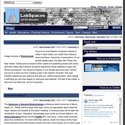 LabSpaces.net - Science news, blogs, forum, protocols and social networking for science afficionados