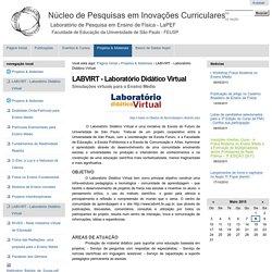 LABVIRT - Laboratório Didático Virtual — Nupic