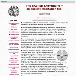 The Sacred Labyrinth ~ Ancient Meditation Tool