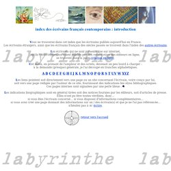 labyrinthe - Christine Genin - index des écrivains contemporains