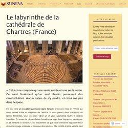 Le labyrinthe de la cathédrale de Chartres (France)