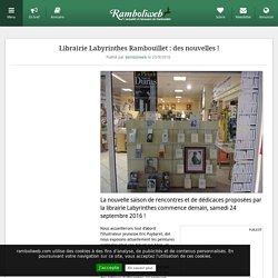 Librairie Labyrinthes Rambouillet : des nouvelles !