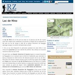 Lac de Nino - Lac - Randonnées et trekking