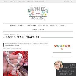Lace & Pearl Bracelet