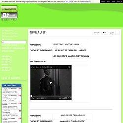 lachansonenfle - NIVEAU B1