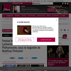 Festival ManiFeste : Jarrell, Lachenmann et Boulez à la Philharmonie, sous la baguette de Matthias Pintscher