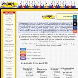 Lachimie.net - Mode d'emploi