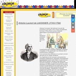 Lachimie.net - Principe de Lavoisier