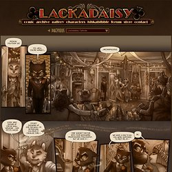 Lackadaisy :: Lackadaisy Blood-money