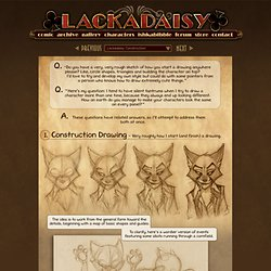 Lackadaisy :: Lackadaisy Construction