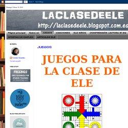 LACLASEDEELE: JUEGOS