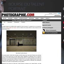 Ch.Chenut censure le Prix Lacoste Elysée 2011