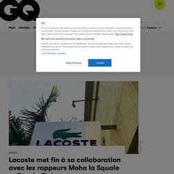Lacoste met fin à sa collaboration avec les rappeurs Moha la Squale et Roméo Elvis