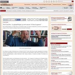 """Yves Lacoste : """"La géopolitique, ça sert encore """"à faire la guerre"""""""