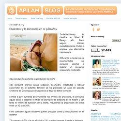 Todo sobre lactancia, un blog de APILAM: El alcohol y la lactancia en 12 párrafos