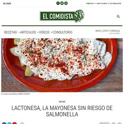 Lactonesa, la mayonesa sin riesgo de salmonella