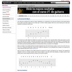 Curso de Guitarra Gratis (Lección 13)