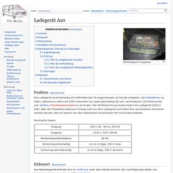 Ladegerät A10 – T4-Wiki