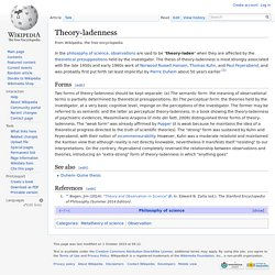 what is duhem holism thesis After pointing out this error, i move on to consider greenwood's main argument that the quine-duhem thesis suffers from a form of epistemological self-defeat if it is interpreted to mean that any recalcitrant observation can always be accommodated to any theory.