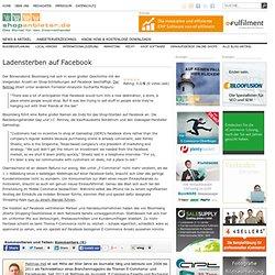 Ladensterben auf Facebook » Bunte Kiste, Studien & Märkte