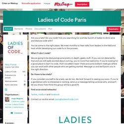 Ladies of Code Paris (Paris)